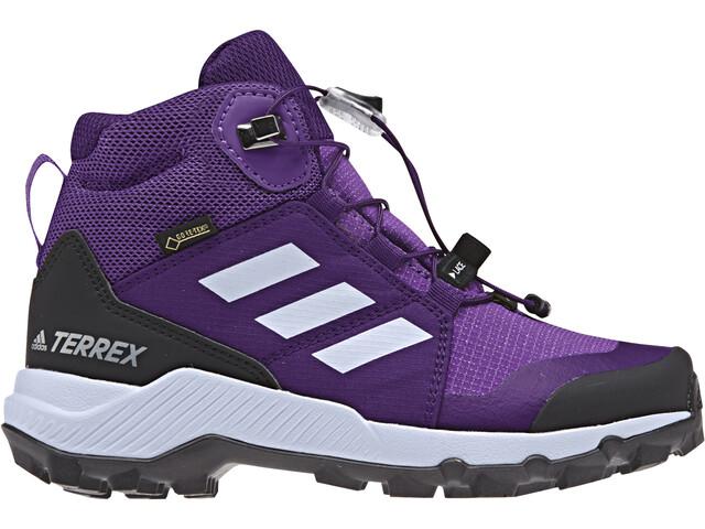 0d796086a1353 adidas TERREX Mid GTX - Calzado Niños - violeta
